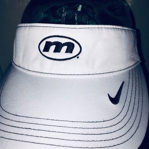 Nike White Golf Visor NWOT